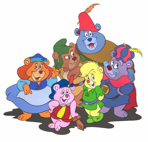 Приключения мишек гамми gummi bears