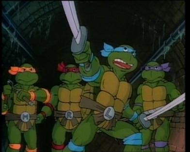 Черепашки ниндзя turtles